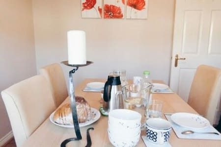 Lovely quiet comfortable single rm - Glasgow - Haus