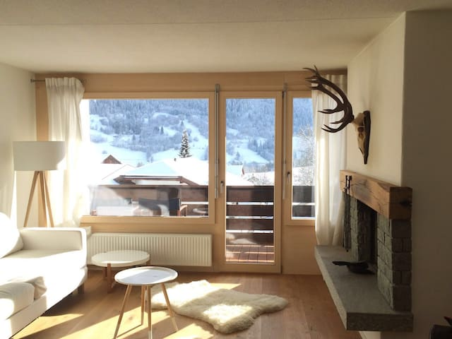 Newly renovated ski apartment - Sagogn - Wohnung