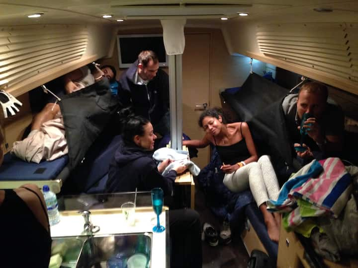Luxury yacht accommodation in Cowes
