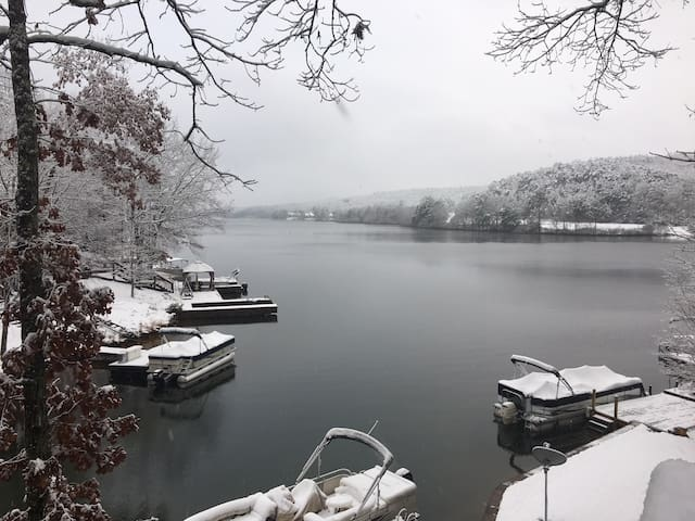 Beautiful in the winter as well
