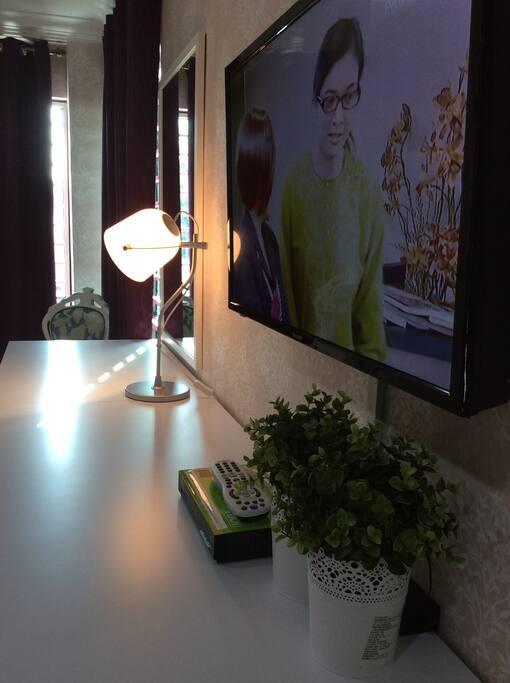 Satellite LCD TV