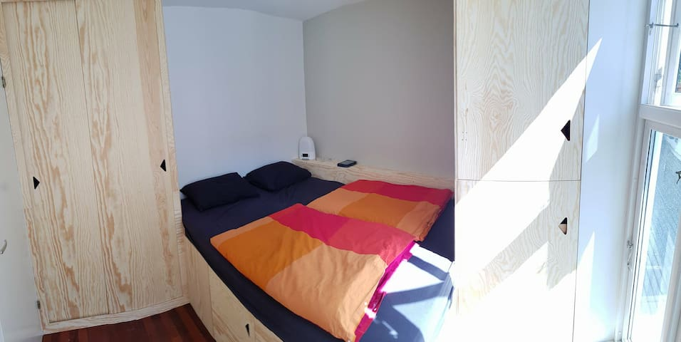 Bedroom / soverom / Schlafzimmer (the bed is 140*200cm)