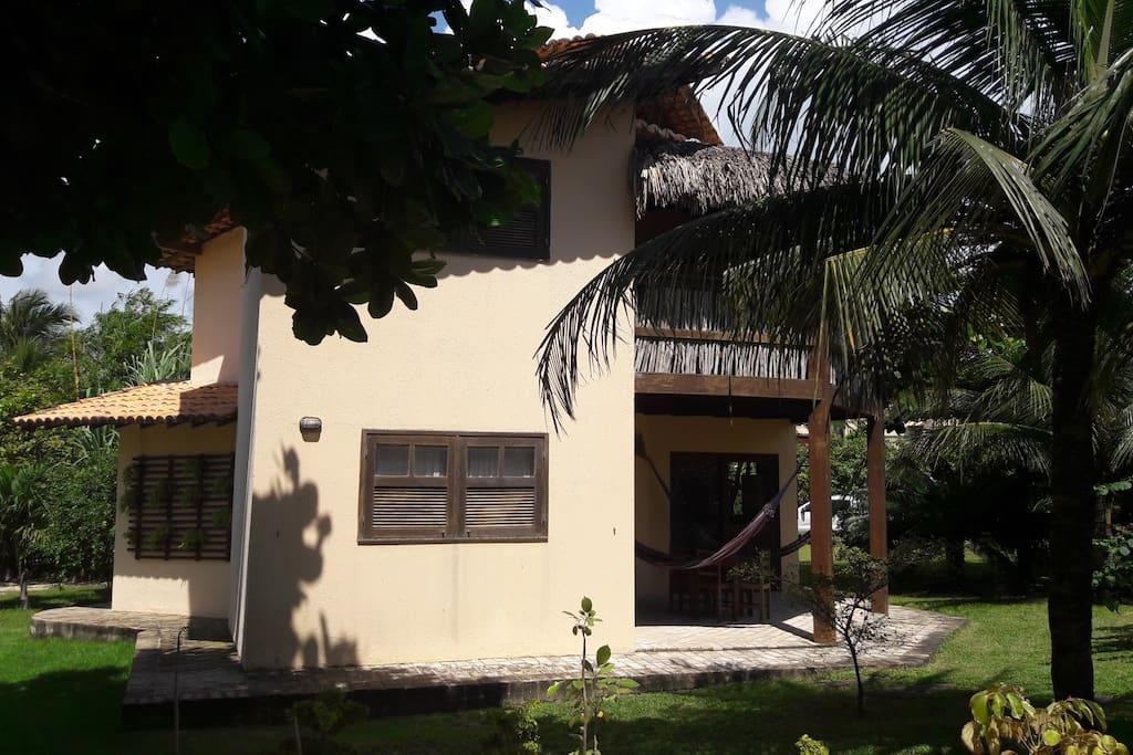 Fachada lateral/Acesso casa
