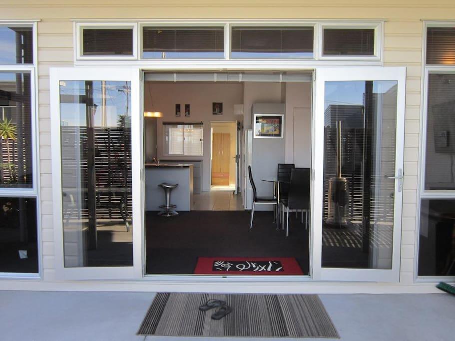 Entrance to Ngunguru Seabreeze