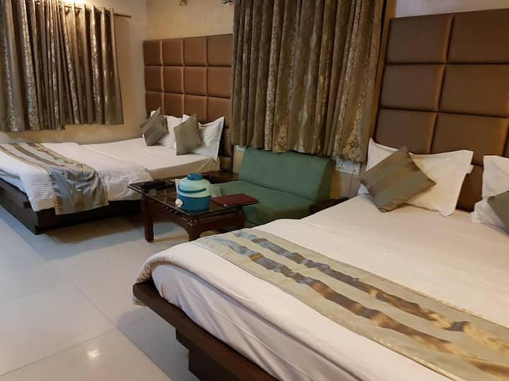 Family 4 Bed AC Room