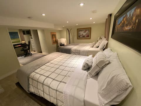 Cosy suite with private entrance near the beach