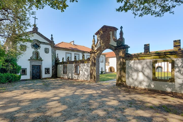 Rooms in a noble Manor-House. - Viana do Castelo Municipality - 家庭式旅館