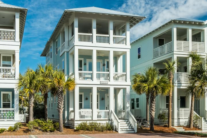 2020 Reduced Rates! 3 King Suites! pool home! Rooftop Deck w/ Grill, Beach*! Sea La Vie at Seacrest