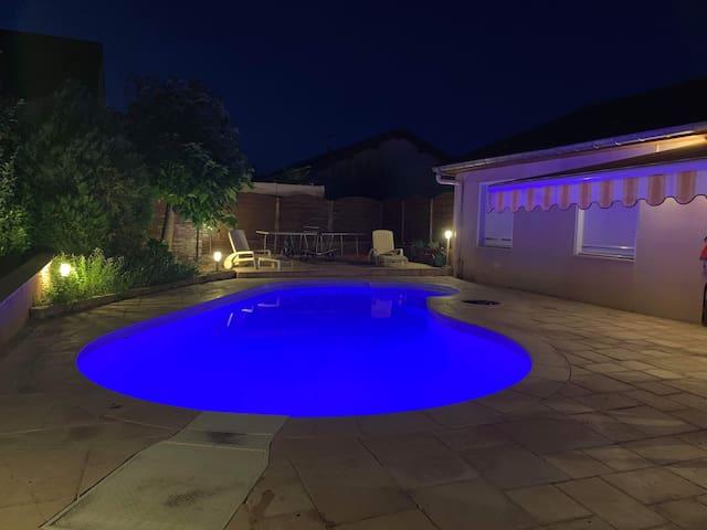 Grande Villa 220 m² avec Piscine chauffée + jardin