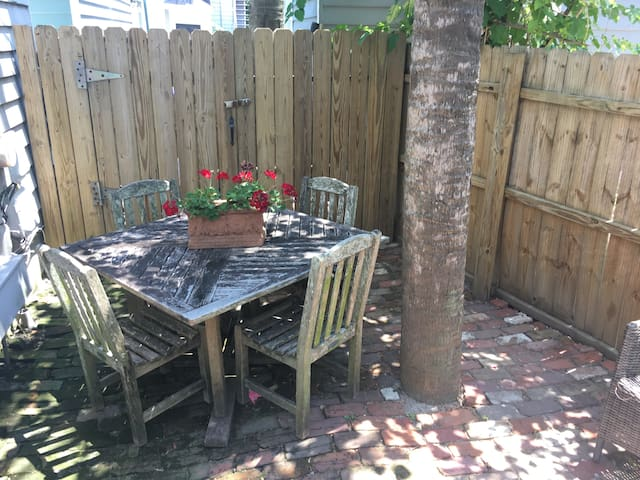 DOWNTOWN-1850s APARTMENT-2BR 2BATH AND PARKING