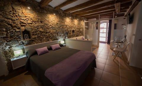 Alojamiento para 2 personas en el Priorat