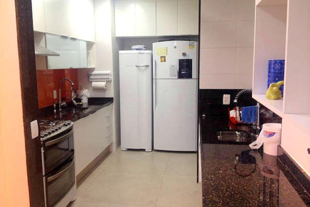Spacious and fully utilized kitchen