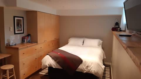 Fresh Beautiful Bachelor Suite in Central Rossland