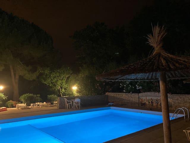 Mas Catalan pres de la mer, piscine