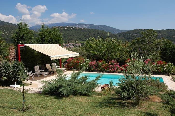 Appartement au calme avec piscine privée. - Mollans-sur-Ouvèze