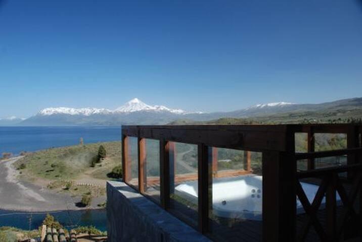 Cabaña Ecológica Homelodge con Increibles Vistas - Junín de los Andes