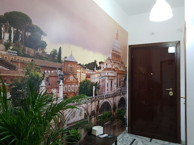 ROME - Colli Albani Sweet Apartment, 100m METRO