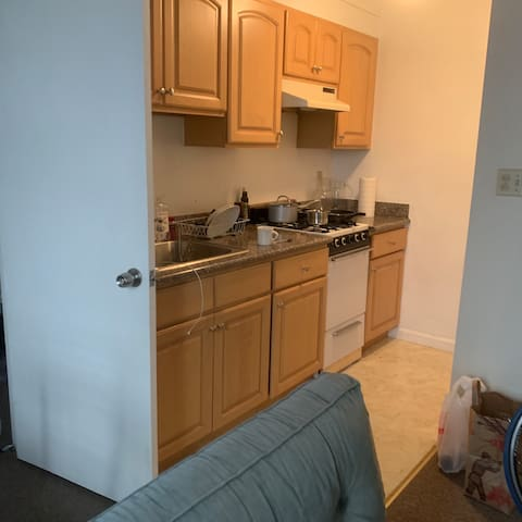 1 bedroom apt  steps from trader joes (nob hill)