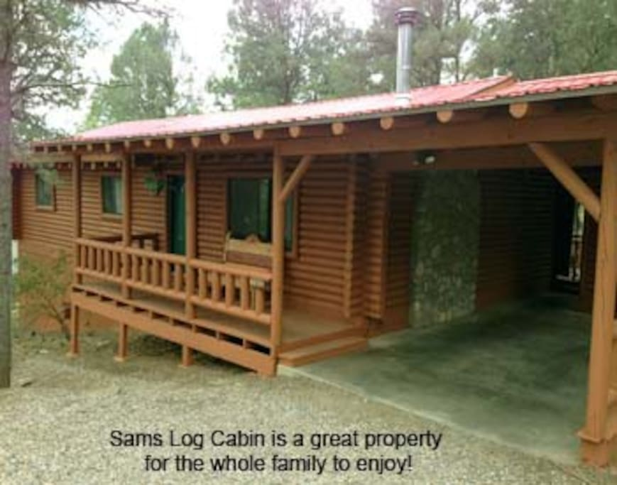 Sam 39 S Log Cabin Cottages For Rent In Ruidoso New Mexico United States