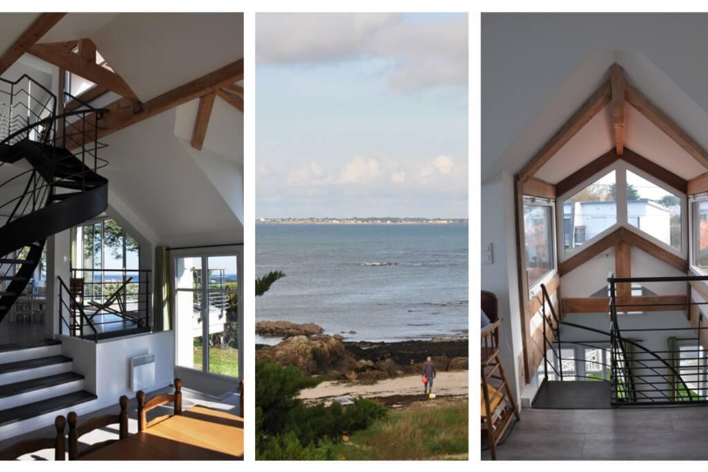 Villa d'Architecte avec vue mer