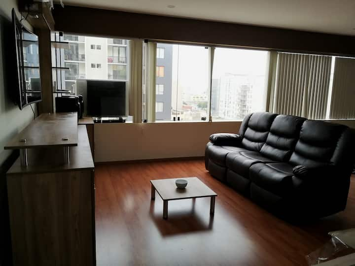 Loft in Miraflores A/C fully furnished