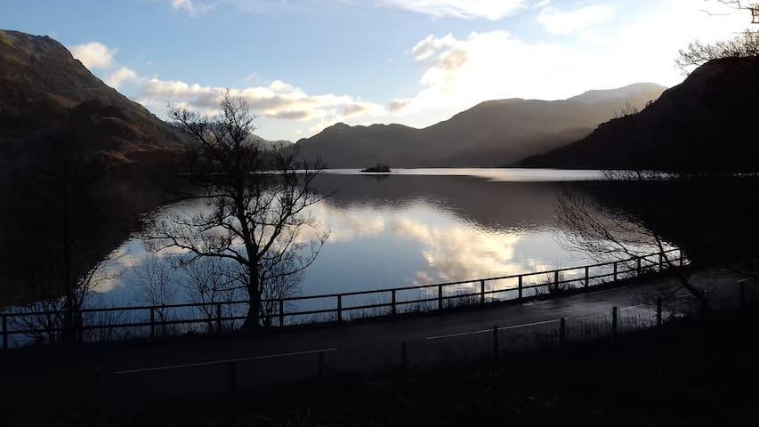 Ullswater lake 10 mins drive