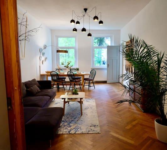 110 qm Ferienwohnung Stadtvilla Halberstadt