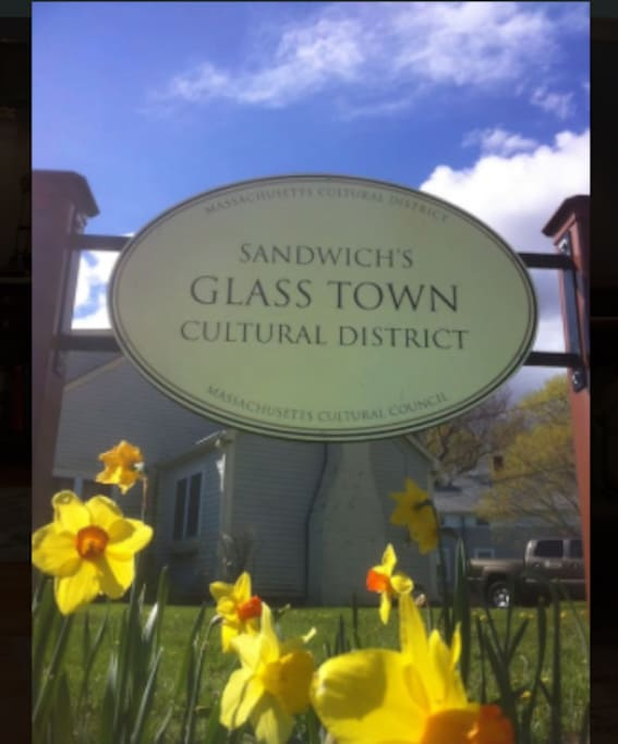 Sandwich Glass has earned a world wide reputation. The Sandwich Glass Museum is a must see.