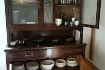 the old grandfather cupboard