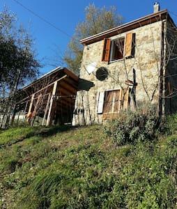 Casa Pietra EQUI TERME Lunigiana - Molina di Equi Terme - Hus