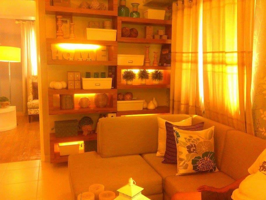 Sala with big Sofa