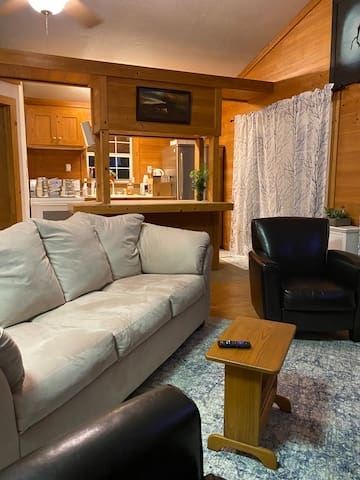 Kitchen/Living + Pullout Double Couch