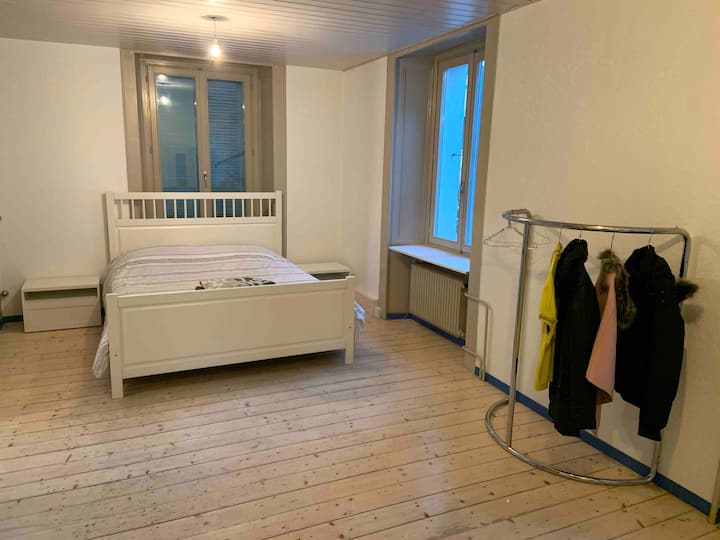Appartement 3 pièces,  5 min. gare / centre-ville