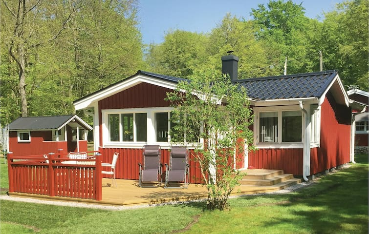Holiday cottage with 1 bedroom on 50m² in Sölvesborg