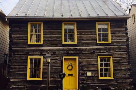 Thaddeus Stevens' Gettysburg Log Home *New Listing - ゲティスバーグ - 一軒家