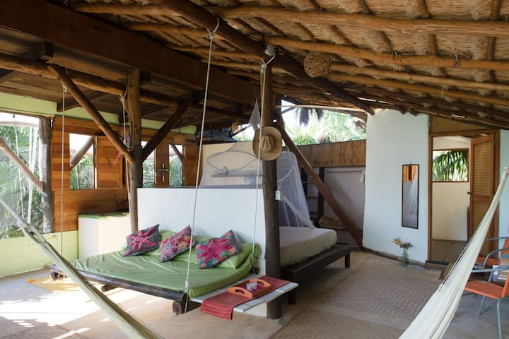Jungle Beach Tree House - Tulum - Apartmen