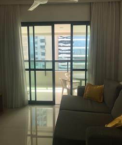 Apartamento Mobiliado em Condomínio de Luxo