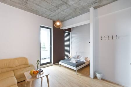 Cosy Space Apartments - 3-prv bathroom and balcony - Gdańsk