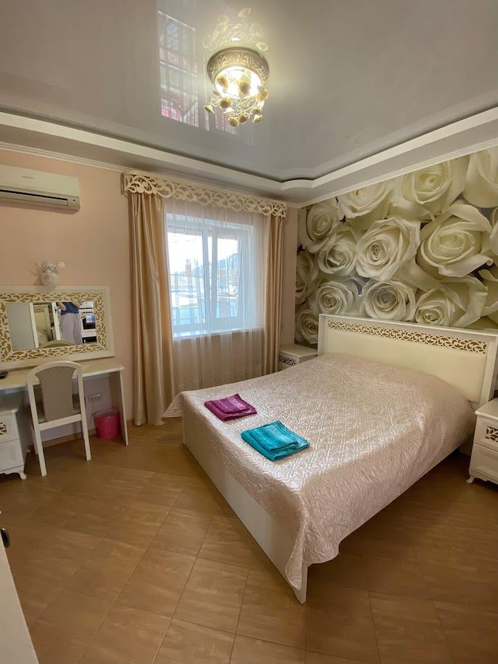 Уютная однокомнатная квартира со всеми удобствами