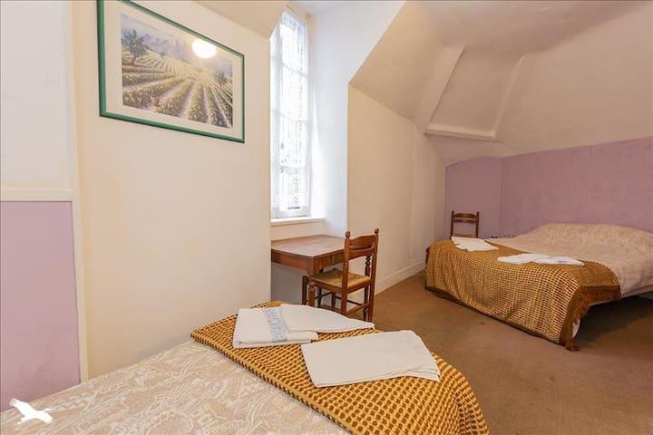 Lavender Chambre - 2 beds / 2/3 personnes