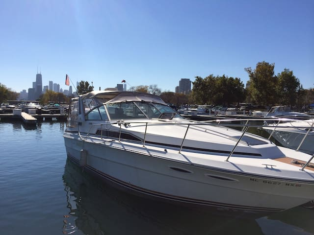 35ft Boat with full cabin Chicago - Chicago - Barca