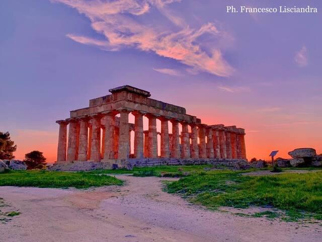 Casa con vista templi a Selinunte