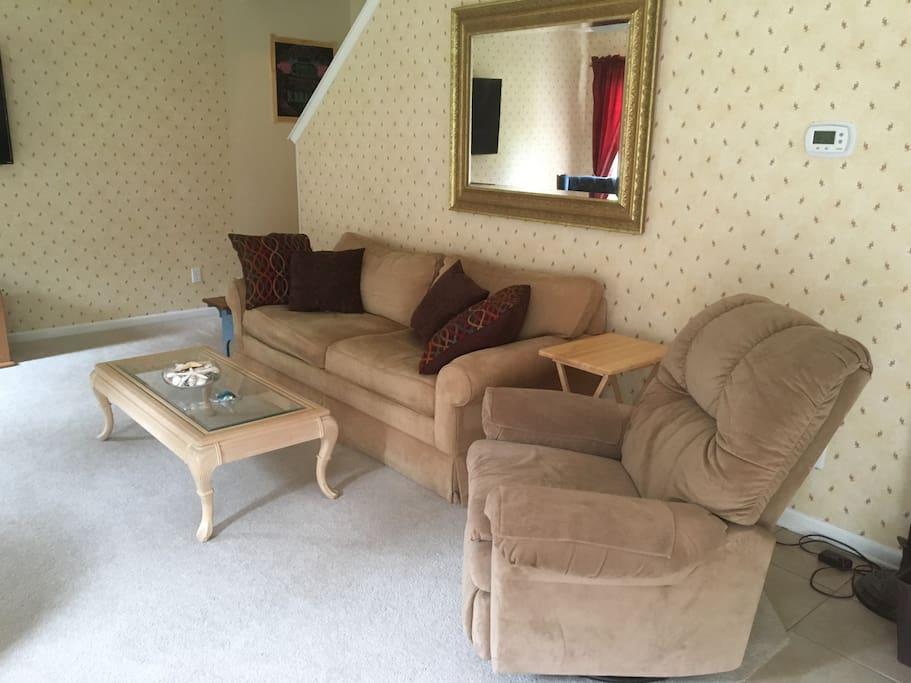 More comfy living room