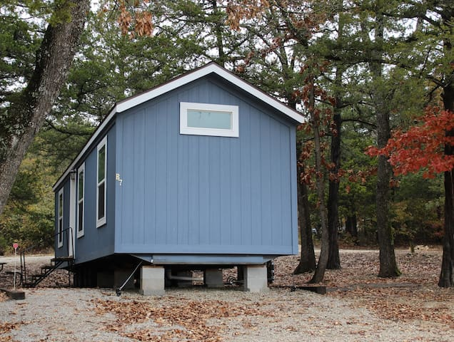 Quiet cabins near the heart of Branson