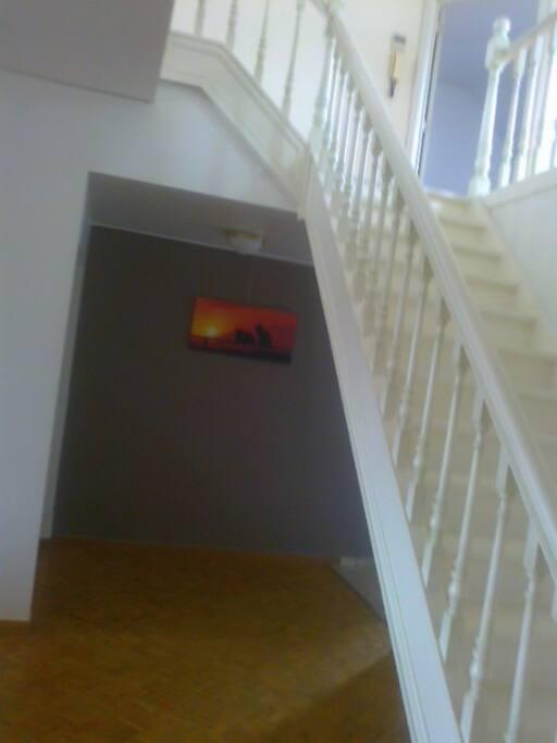 Stairs on2 floor