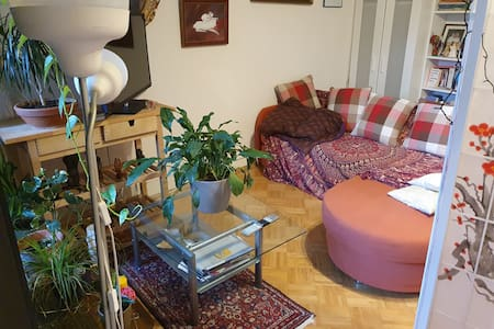 Wohnzimmer Sofa nahe Mehlem Bahnhof
