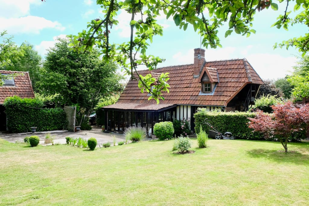 charmante maison en haute normandie maisons louer lintot les bois haute normandie france. Black Bedroom Furniture Sets. Home Design Ideas