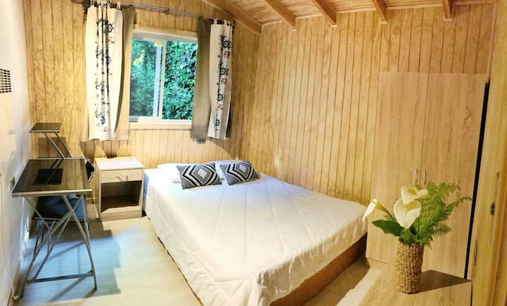 Cozy room mountain style cabin Habitacionacogedora