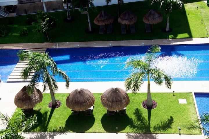 Luxury Condo in the Best Location Near The Beach! - Cancún - Apartemen