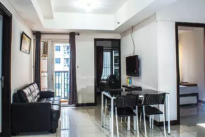 Room Type 3 kamar tidur Educity Apartemen